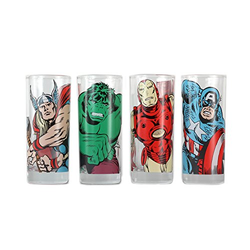 marvel-comics-character-glass-tumbler-set