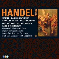 Handel Edition Volume 5 - Semele, Israel In Egypt, Dixit Dominus, Zadok The Priest, La Resurrezione, The Ways Of Zion Do Mourn