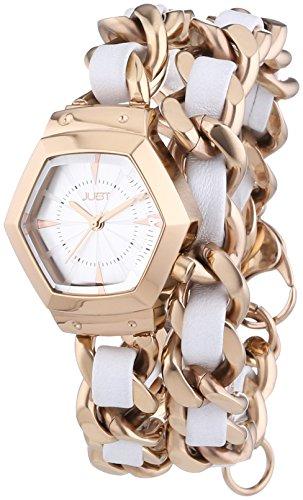 Just Watches - Orologio da polso, analogico al quarzo, acciaio INOX, Donna