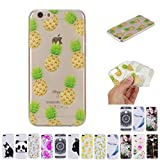 V-Ted Coque Apple iPhone 6S Plus 6 Plus Ananas Silicone Ultra Fine Mince Bumper...