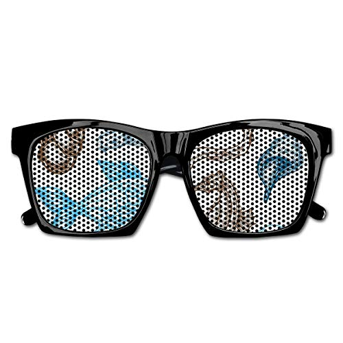 EELKKO Mesh Sunglasses Sports Polarized, Underwater Marine Life Aquatic Fish Shell Jellyfish Oyster Squid Seahorse Motif,Fun Props Party Favors Gift Unisex