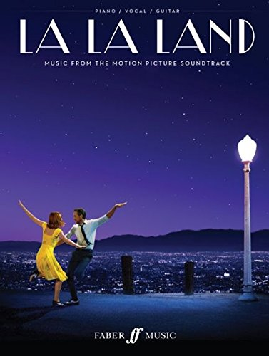 LA LA LAND - die beliebtesten Melodien aus dem Soundtrack zu dem erfolgreichen Kinofilm arrangiert für Klavier mittelschwer mit Gesang und Gitarrenakkorden (Noten)