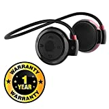 #8: Rhobos Mini 503 Universal Sports Wireless Bluetooth Headphone Stereo Music Headset Earphone with Built-in Microphone & TF Cart Slot Compatible with Xiaomi, Lenovo, Apple, Samsung, Sony, Oppo, Gionee, Vivo Smartphones (One Year Warranty)