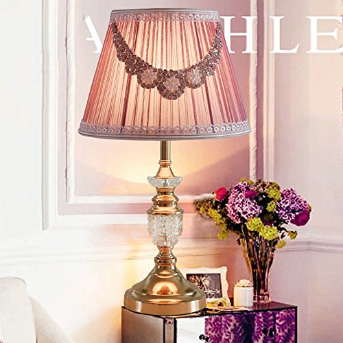 YU-K Fresco di tessuti in pizzo lampadario di cristallo 55*35cm