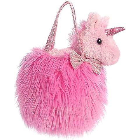 Aurora World Fancy Pals Pet Carrier, Fluffy Hot Pink by AURORA