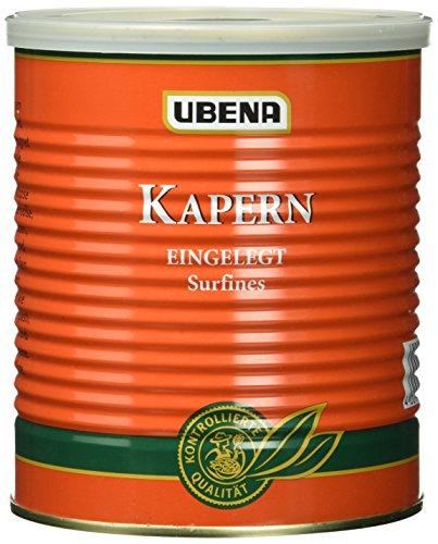 Preisvergleich Produktbild UBENA Kapern eingelegt surfines,  2er Pack (2 x 850 g)