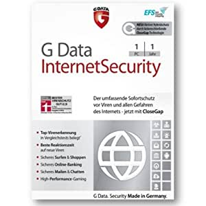 G Data Internet Security 2014 1 PC User inkl Update 2015 EFS