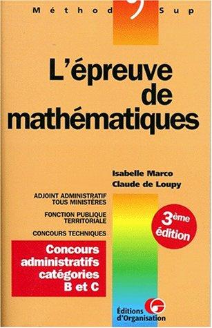 l-39-preuve-de-mathmatiques-concours-administratifs-catgories-b-et-c-3me-dition