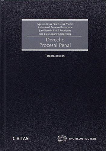 Derecho Procesal Penal ( 3ª ed.) (Tratados y Manuales de Derecho) por Aa.Vv.