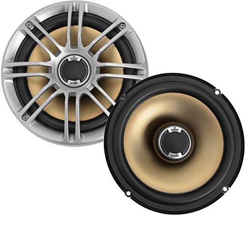Polk Audio db651 Alrededor 180W altavoz audio - Altavoces para coche (180 W, 60 W, 4 Ω, 92 dB, 35-22000 Hz, 30,2 mm)