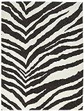 Filz, bedruckt 22,9x 30,5cm -zebra 12pro Packung