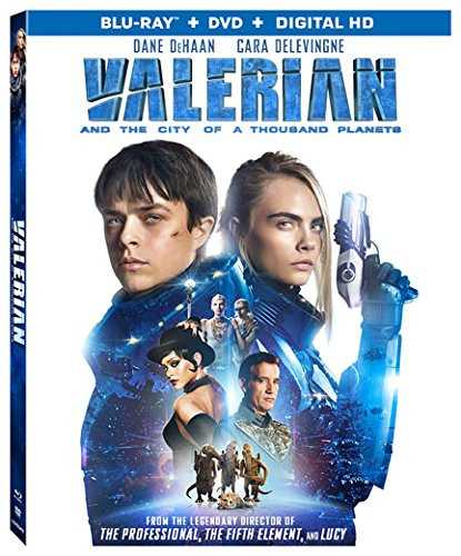 Valerian & The City of a Thousand Planets [USA] [Blu-ray]