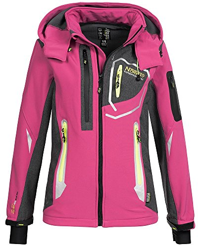 Geographical Norway Damen Softshelljacke Jacke Thailande flashy pink L