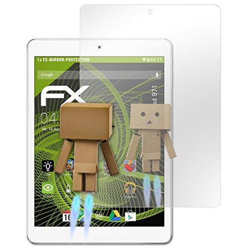 atFolix Bildschirmfolie kompatibel mit Haier Pad 971 Spiegelfolie, Spiegeleffekt FX Schutzfolie
