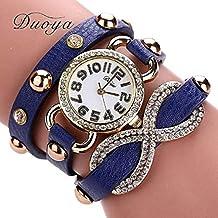 Scpink Relojes de Pulsera para Mujer, Moda único Reloj de Cuarzo Creativo Pop Femenino Reloj