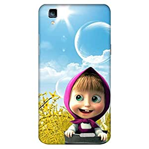 Bhishoom Printed Hard Back Case Cover for Oppo R7 / R7 Lite - Premium Quality Ultra Slim & Tough Protective Mobile Phone Case & Cover