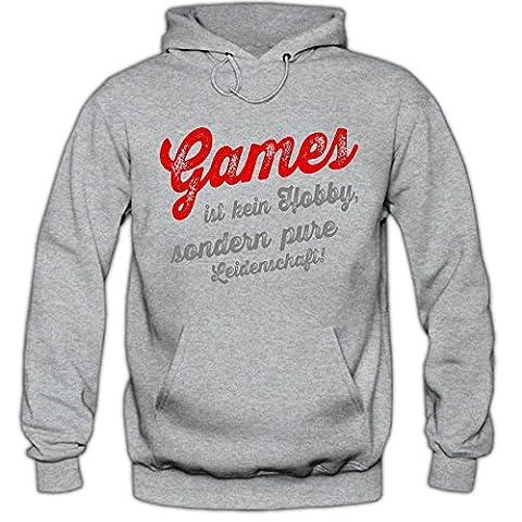 Games #1 Hoody | Game-Hoody | Gamer | Zocken | Herren | Kapuzenpullover © Shirt Happenz,