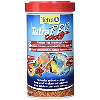 Tetra Pro Colour Fish Food for All Tropical Fish and Extra Colour, 500ml 12