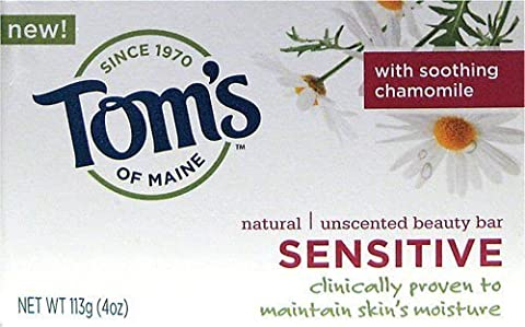 Tom's of Maine Natural Sensitive Bar Soap (Pack of 6) 120 ml by Tom's of Maine