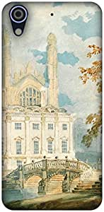 The Racoon Lean printed designer hard back mobile phone case cover for HTC Desire 626. (Clare Hall)