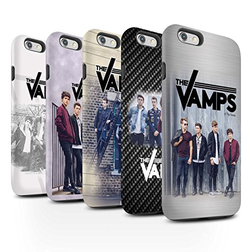 Offiziell The Vamps Hülle / Matte Harten Stoßfest Case für Apple iPhone 6S+/Plus / Pack 6pcs Muster / The Vamps Fotoshoot Kollektion Pack 6pcs