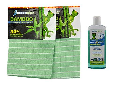 eccogreen-2-x-panno-di-bambu-intenso-1-x-clean-x-treme-bioreiniger-350-ml-per-tutte-le-superfici-ass