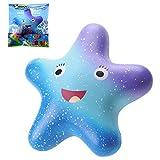 VLAMPO Squishy Starfish Toys Lento Levantamiento Perfumado Squeeze Toys Super Soft...