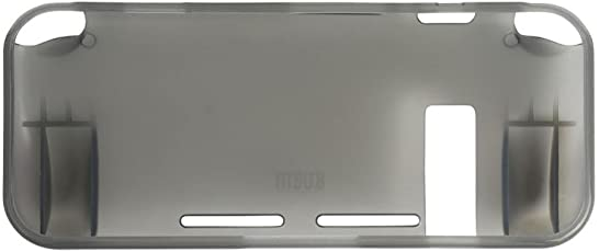 MagiDeal Grey Protective TPU Cover Case Clear Anti-scratch for Nintendo Switch Console