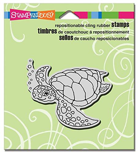 Unbekannt Stampendous crv334Selbst Meer Schildkröte Gummi Stempel