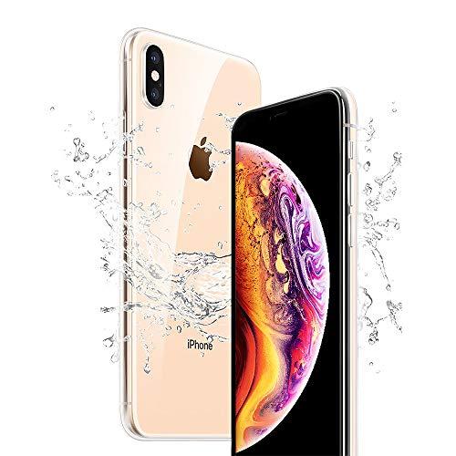 iPhone Xs Hülle, iPhone X Handyhülle, Crystal Silikon Hülle iPhone Xs Ultra Dünn Anti-Shock iPhone XS Case Weich Kratzfeste Gel TPU Schutzhülle für Phone X/iPhone Xs - Durchsichtig