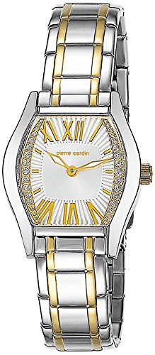 Pierre Cardin Damen-Armbanduhr Special Collection Analog Quarz Edelstahl Swiss Made