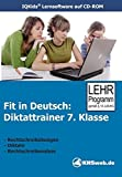 Fit in Deutsch - Diktattrainer 7. Klasse Einzellizenz