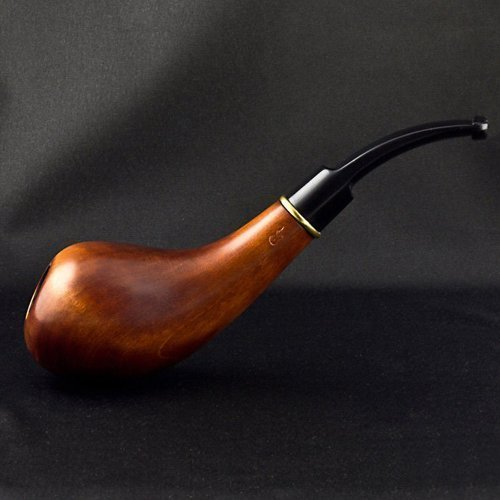 6.1'' Irish wooden smoking pipe. WORLDWIDE shipping. by Royal wooden collection -