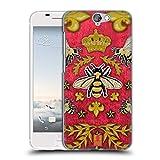 Head Case Designs Kord Und Bienen Gedruckte Patches Und Textilien Ruckseite Hülle für HTC One A9