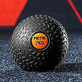 METIS Fitness Slam Bollar– 3 kg till 20 kg | Medicinboll med låg studs – Coreträning | Träningsutrustning för hem/gym - Träni