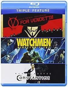 V for Vendetta & Watchmen & Constantine [Blu-ray] [Import anglais]