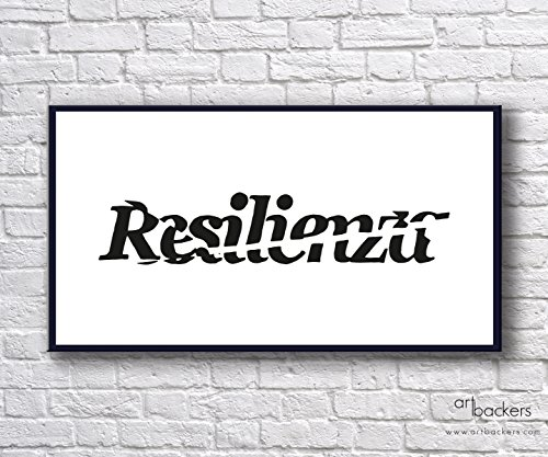 Manu Invisible - Resilienza - 40x25 cm