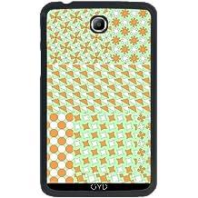 """Funda para Samsung Galaxy Tab 3 P3200 - 7"""" - Patrón De Mosaico, Verde by LoRo-Design"""