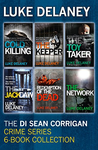 Publication Order of DI Sean Corrigan Books