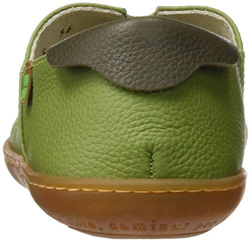 El Naturalista N275 Soft Grain El Viajero, Sneakers Basses Mixte Adulte Vert (Green / Kaki)