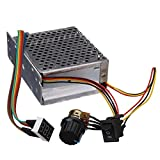 #4: Generic DC 10-55V 60A DC Motor Speed Controller Motor Speed Regulator CW CCW Reversible Switch One Piece