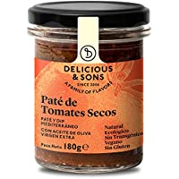 Delicious & Sons Paté de Tomates Secos Ecológico 180g