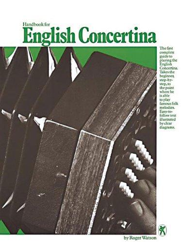 Handbook For English Concertina (Watson, R) (Album): Noten für Harmonika (Gitarre Key Wind)