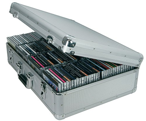CD-Aufbewahrung, Aluminium 120 CD