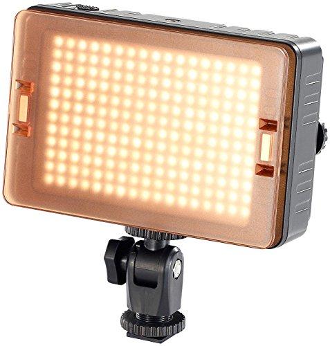 Foto- und Videoleuchte FVL-1420.d mit 204 Tageslicht-LEDs (Kameraleuchte) ()