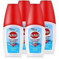 Autan Mückenschutz Family Care Pumpspray 100ml - bis zu 4h schutz vor Mücken, dermatologisch getestet, enthält... preisvergleich bei billige-tabletten.eu
