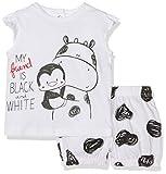 Chicco 09077427000000, Conjunto de Ropa para Bebés, Bianco, 74 cm