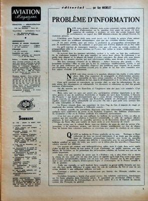 AVIATION MAGAZINE N? 198 du 16-08-1956 SOMMAIRE - L???ACTUALITE AERONAUTIQUE - A TIBIAS ROMPUS PAR JACQUES NOETINGER - ALEXANDRE ANZANI PAR RAYMOND SALADIN - EDITORIAL - PROBLEME D???INFORMATION PAR GUY MICHELET - LES VOILURES TOURNANTES EN URSS PAR JACQUES MARMAIN CHARLES W CAIN ET J D VOADEN - LA BA 725 DE CHAMBERY PAR J PERARD - LES CHAMPIONNATS DU MONDE DE MOTOMODELES A CRANFIELD PAR JEAN GUILLEMARD - LES CHAMPIONNATS DU MONDE DE PARACHUTISME A MOSCOU PAR JEAN VIDAL - LE MOTOPLANNEUR NELS...