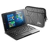 CSL Panther Tab 9s inkl. Windows 10 Home - 8.9 Zoll (22,6cm) Tablet, Intel QuadCore 4x 1920 MHz, 2GB RAM, 32GB SSD, Tastatur-Dock, Tasche