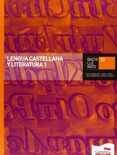 Lengua Castellana y Literatura 1 Bachillerato - 9788498049190 epub